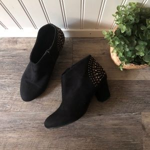 Lane Bryant | 8W Black Studded Boots